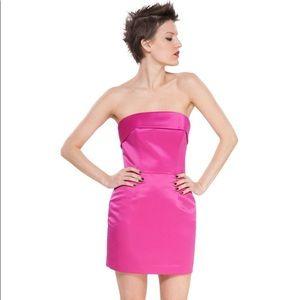Betsey Johnson Pink Dutchess Strapless Mini Dress